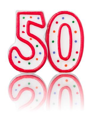 number 50: Red n�mero 50 con la reflexi�n