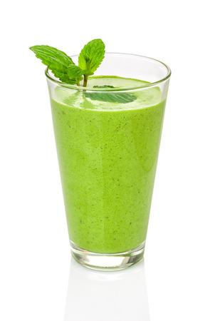 l�gumes verts: Smoothie vert � la menthe