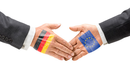 Germany and EU reach out their hands photo