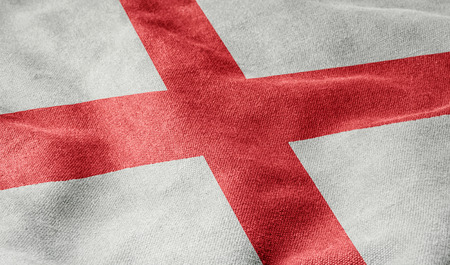 georges: Flag of England Stock Photo