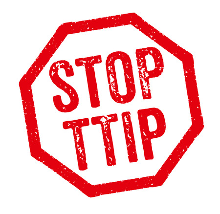 Red Stamp - Stop TTIP