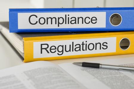 Mappen met het label Compliance and Regulations