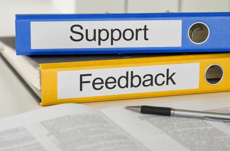 administracion de empresas: Carpetas con el apoyo y Sugerencias etiqueta