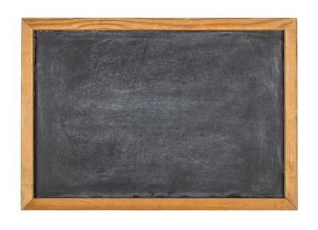 木製フレームで空の黒板