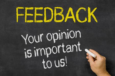 kunden: Feedback - Ihre Meinung ist uns wichtig