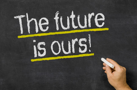 The future is ours Stock Photo