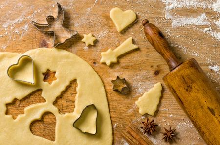 cookie cutters: Christmas cookies