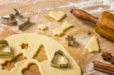 baking christmas cookies: Christmas cookies