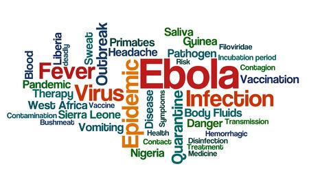 Word Cloud - Ebola photo