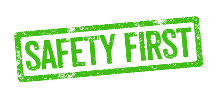 Green Stamp - Safety first photo