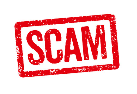 Red Stamp - Scam photo