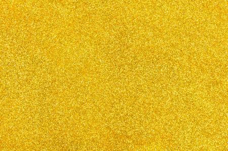 glistening: Golden background with glitter Stock Photo