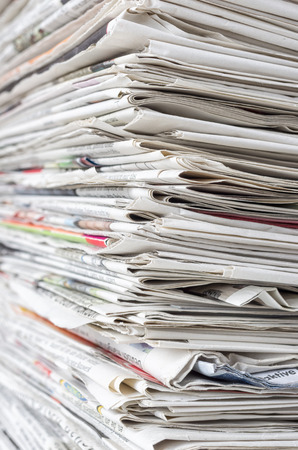 pile of newspapers: Pile of newspapers