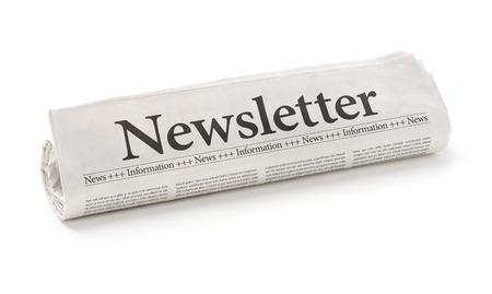 periodicos: Periódico rodado con el Boletín de titulares