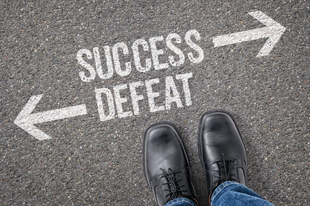 defeat: Decision at a crossroad - Success or Defeat