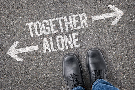 lonelyness: Decision at a crossroad - Together or Alone