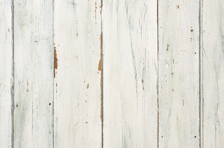 Rustic white wooden background photo