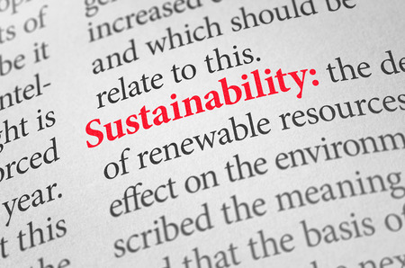 greenhouse effect: Definition of the word Sustainability in a dictionary
