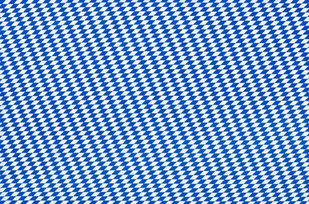 checker flag: Fabric with blue diamond pattern