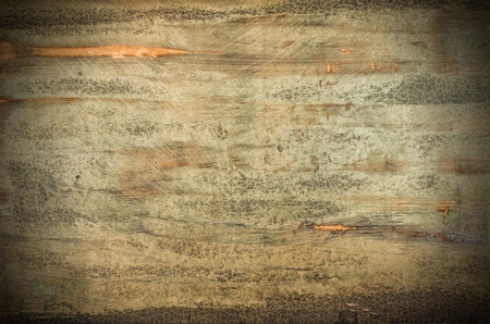 Rustic wooden background with vignette Standard-Bild