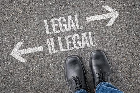 Decisión en una encrucijada - legal o ilegal