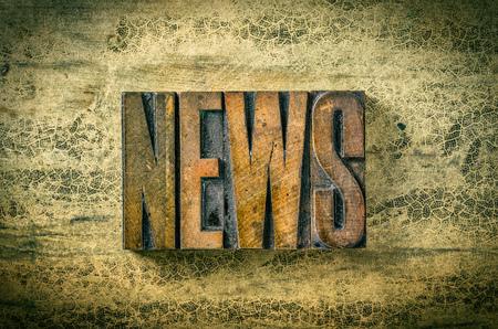 letterpress blocks: Antique letterpress wood type printing blocks - News