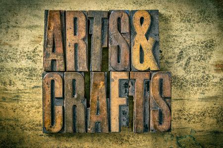 Tipografía antiguo bloques Tipo de madera - Artes y Oficios Foto de archivo - 46142480