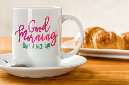 nice day: Good Morning - Have a nice day Stock Photo