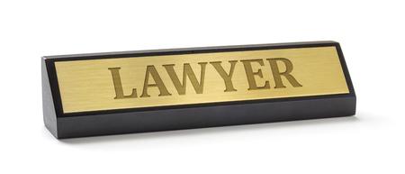 placa bacteriana: Una placa de identificación en un fondo blanco con el abogado de grabado