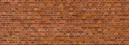 Oude bak stenen muur