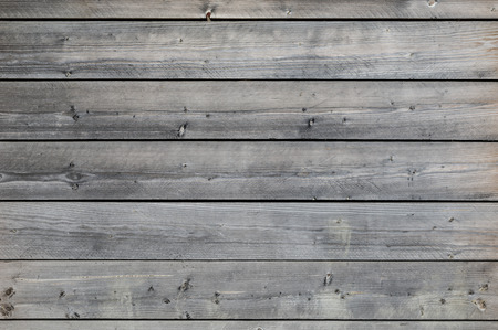 Weathered grey wooden background Banco de Imagens