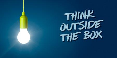Žhavá žárovka - mysli mimo krabici
