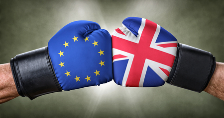 controversy: A boxing match between the European Union and the UK