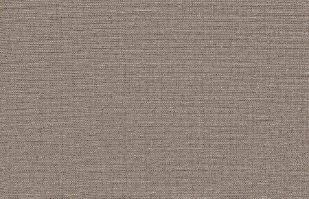 A brown woven linen fabric texture background Stock Photo