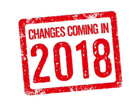 Red Stamp - Changes coming in 2018