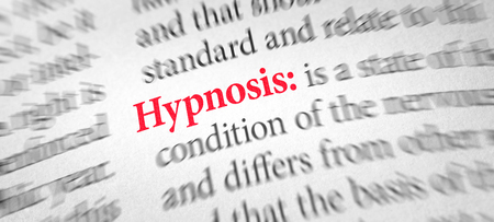 Definition of the word Hypnosis in a dictionary