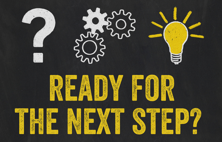 Question Mark, Gears, Light Bulb Concept - Ready for the next step 스톡 콘텐츠