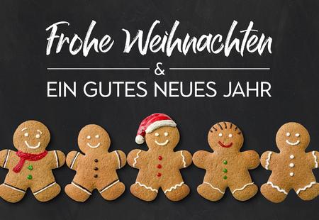 Frohe Weihnachten und ein gutes neues Jahr (Merry Christmas and a happy new year)