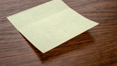 A sticky note with copy space Reklamní fotografie