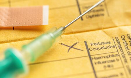 International certificate of vaccination - Pertussis