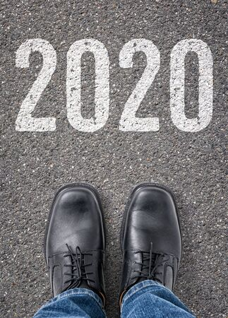 Text on the floor - 2020 Reklamní fotografie