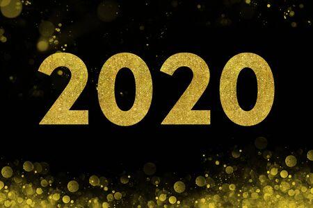 A happy new year 2020 Banco de Imagens
