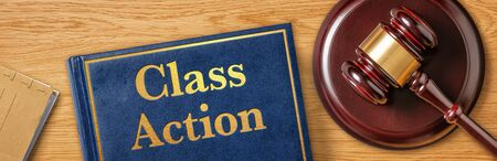 A gavel with a law book - Class Action