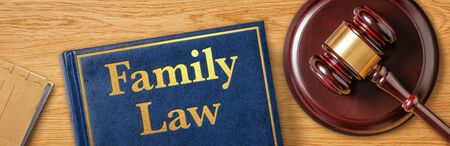 A gavel with a law book - Family Law