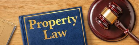 A gavel with a law book - Property Law