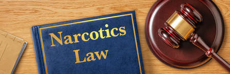 A gavel with a law book - Narcotics Law