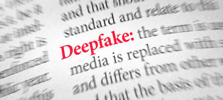 Definition of the word Deepfake in a dictionary