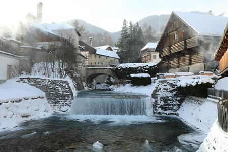 Mauterndorf in winter