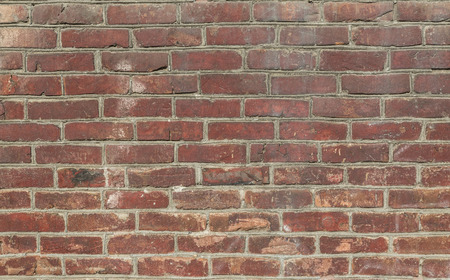 red wall: Red brick wall patterns