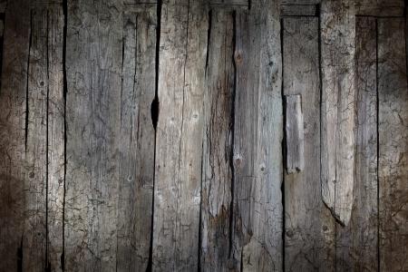 Grunge grey wooden background photo